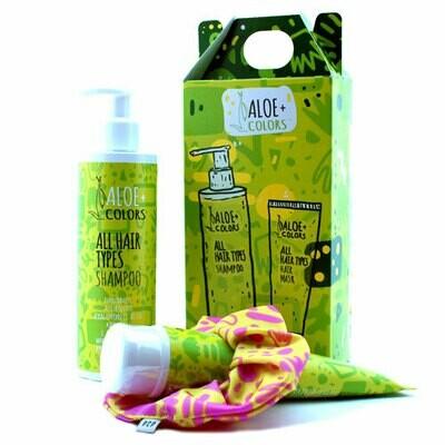 Aloe+Colors All Hair Type Shampoo & Hair Mask SET & ΔΩΡΟ Λαστιχάκι PCP