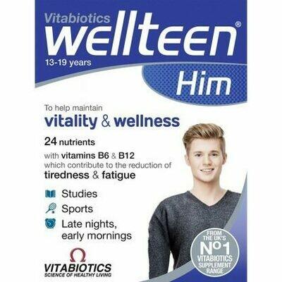 Vitabiotics Wellteen Him 30tabs