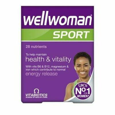 Vitabiotics Wellwoman Sport & Fitness 30caps