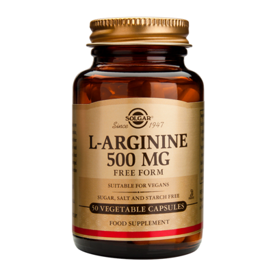 Solgar L-Arginine 500mg 50caps
