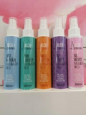 Aloe+Colors Hair & Body Mist  100ml