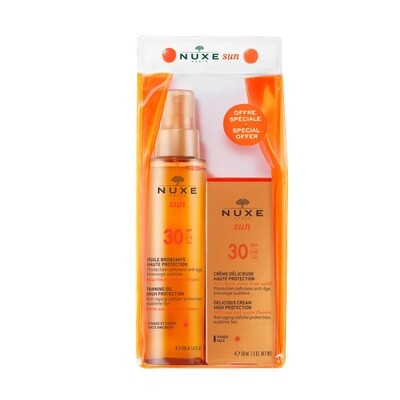 Sun Oil spf30 150ml pr +Face Spf30 50ml Special Price