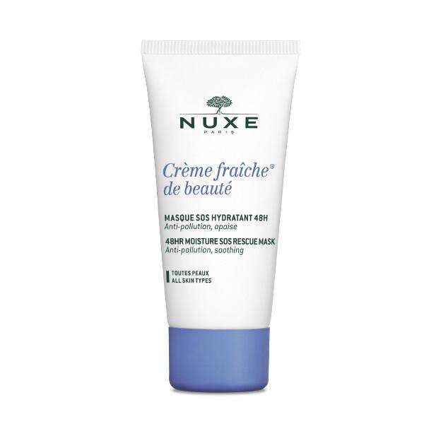 Nuxe Creme Fraiche de Beaute Μάσκα 48ωρης Ενυδάτωσης για το πρόσωπο & την περιοχή των ματιών, 50ml
