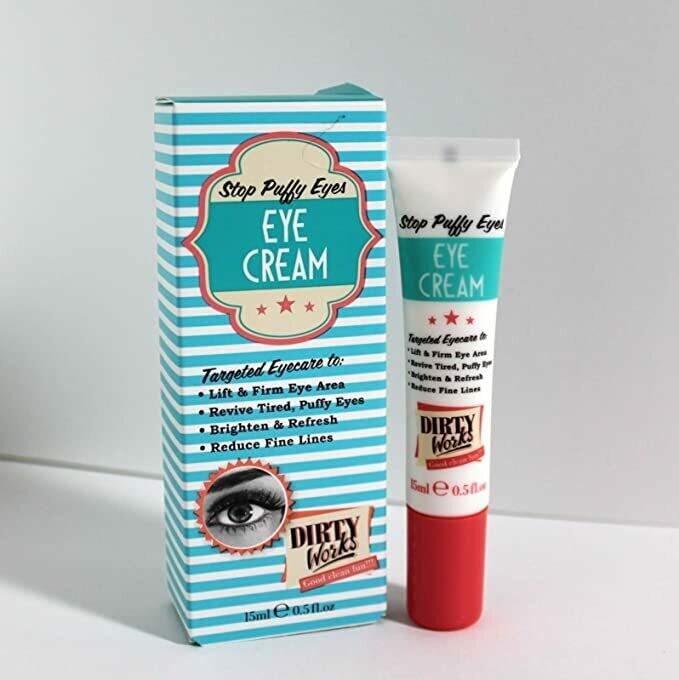 Dirty Works Stop Puffy Eyes Perfecting Eye Cream 15ml