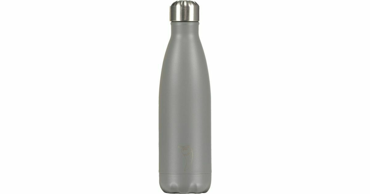 Chilly's Ανοξείδωτο Θερμός Matte Edition Grey 500ml