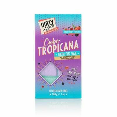 Dirty Works Fizzy Bath Cubes 200gr
