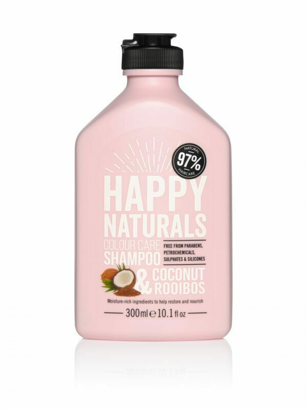 Happy Naturals Colour Care Shampoo Coconut & Rooibos 300ml