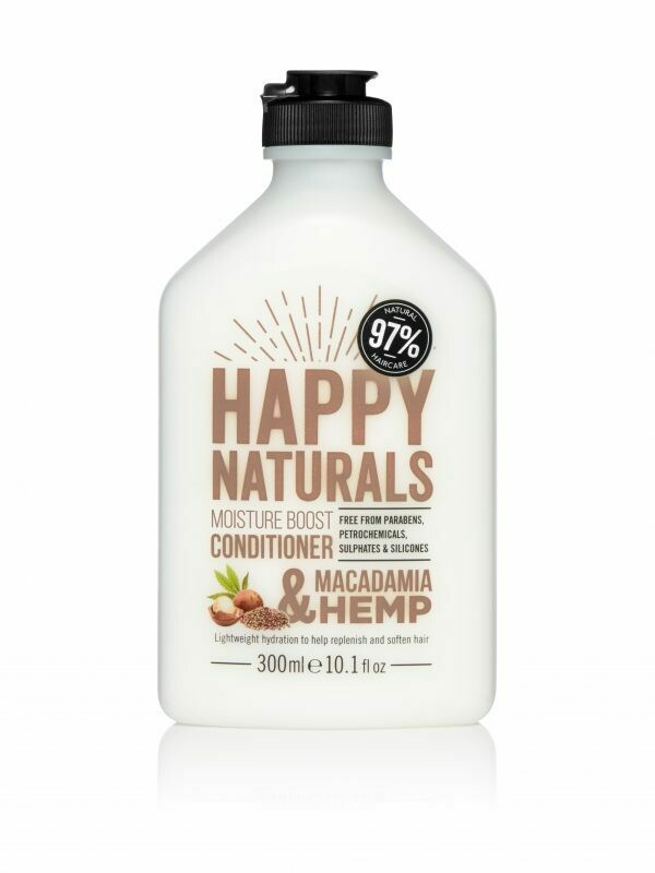 Happy Naturals Everyday Moisture Conditioner Macadamia & Hemp 300ml