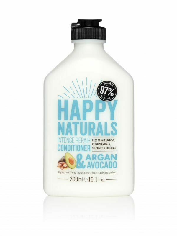 Happy Naturals Intense Repair Conditioner Argan & Avocado 300ml