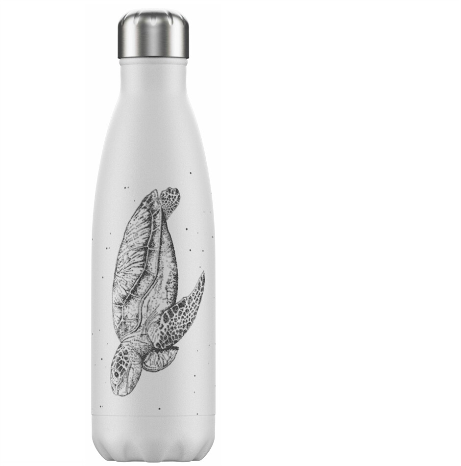 Chilly's Sea Life Edition Turtle Ανοξείδωτο Θερμός 500ml