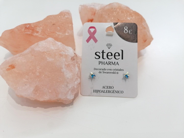 Steel Pharma Swarovski Earings Melisa