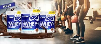 USN 100% Premium Whey Σακούλα 2kg