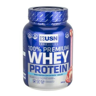 Usn Premium Whey Protein Φράουλα 908g