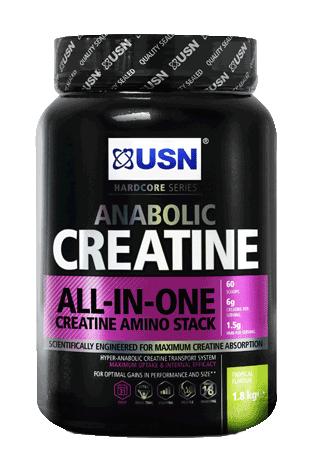 USN Creatine Anabolic 1,8kg