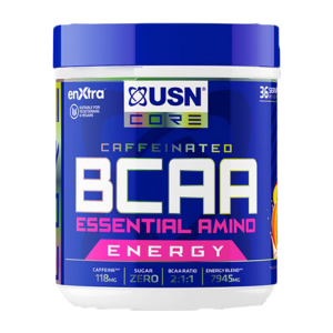USN BCAA Power Punch Caffeine-Taurine 400gr (Μάνγκο-Πορτοκάλι)