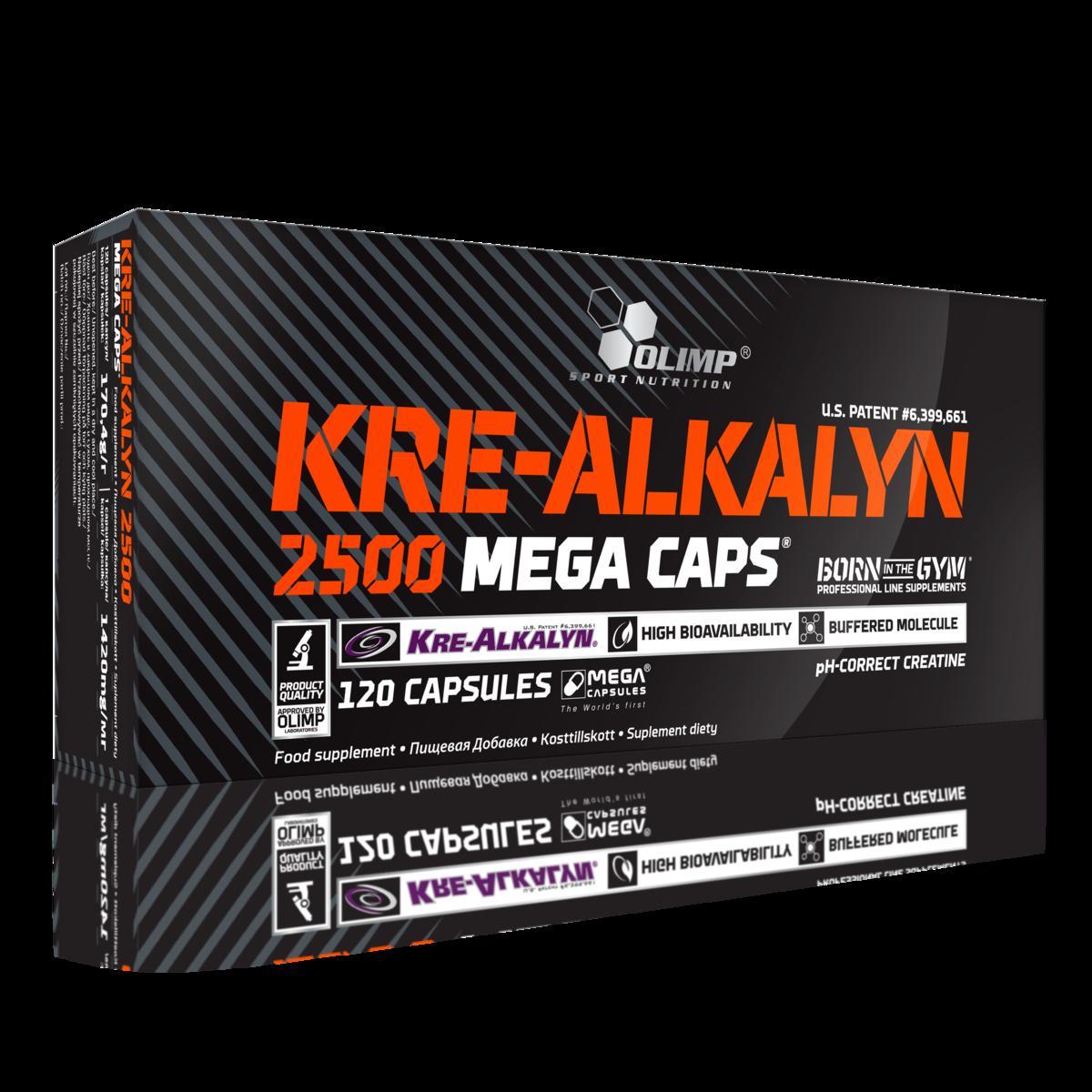 OLIMP KRE-ALKALYN 2500 MEGA 120 CAPS