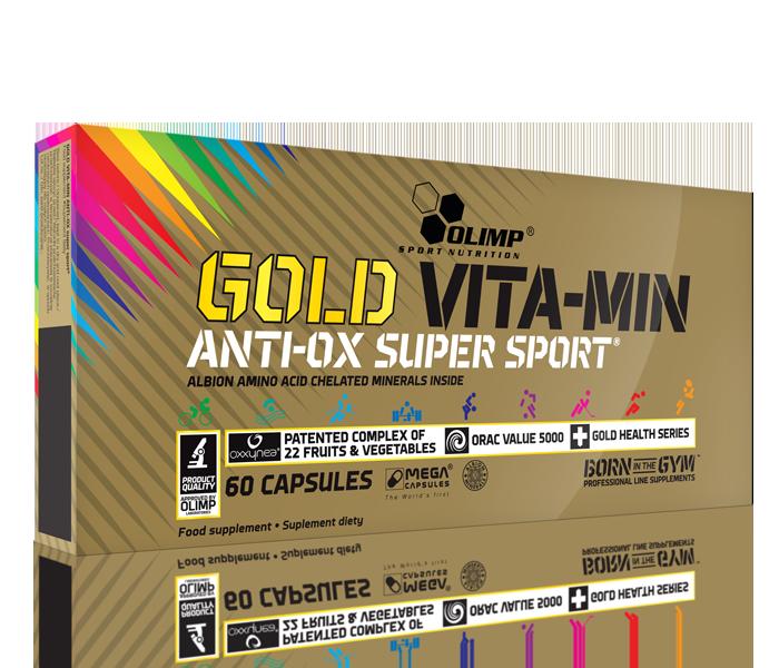 OLIMP GOLD VITAMIN ANTI OX SUPER SPORT