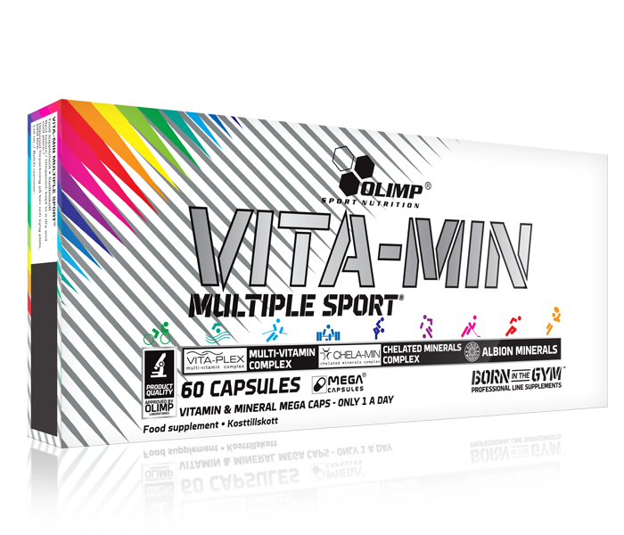 OLIMP VITAMIN MULTIPLE SPORT 60caps