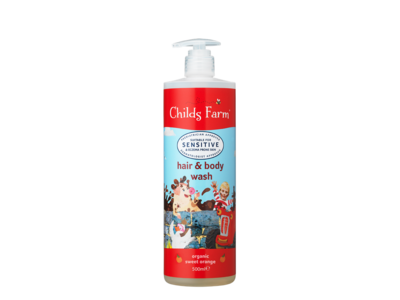 Childs Farm Hair & Body Organic Sweet Orange 500ml
