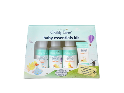 Childs Farm Baby Essentials Kit 50ml/50ml/50ml/15ml