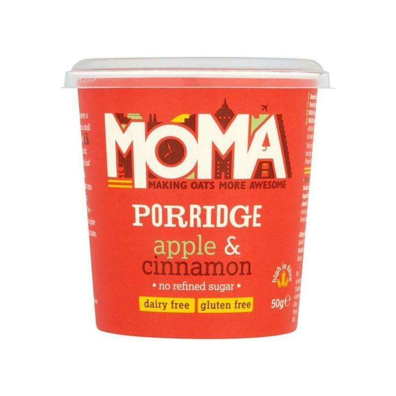Moma Πρωινό Βρώμης με Μήλο και Κανέλα Χωρίς Γλουτένη