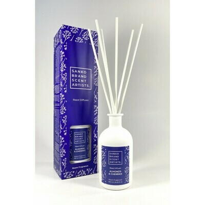 Sanko Almonds & Cherries Reed Diffuser αρωματικό χώρου 250 ml