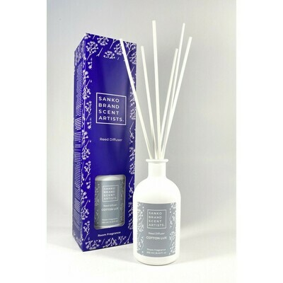 Sanko Cotton Lux Reed Diffuser αρωματικό χώρου 250 ml