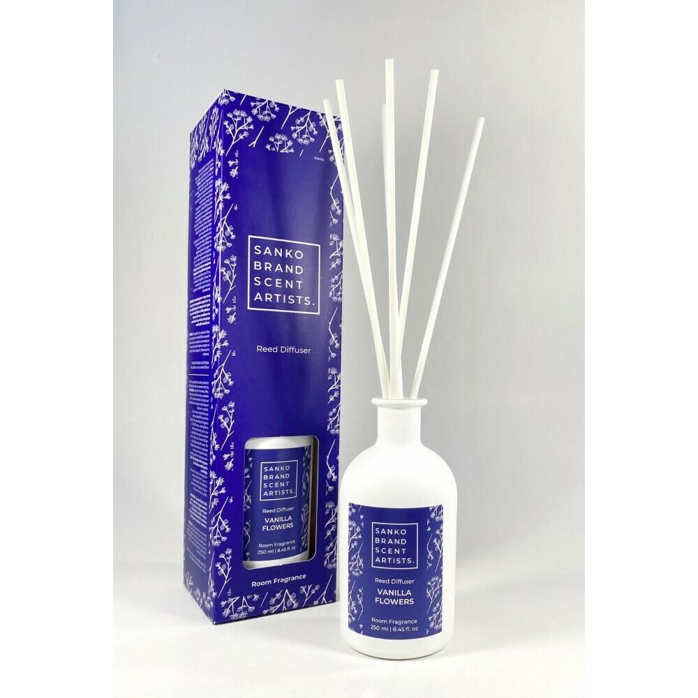 Sanko Vanilla Flowers Reed Diffuser αρωματικό χώρου 250 ml