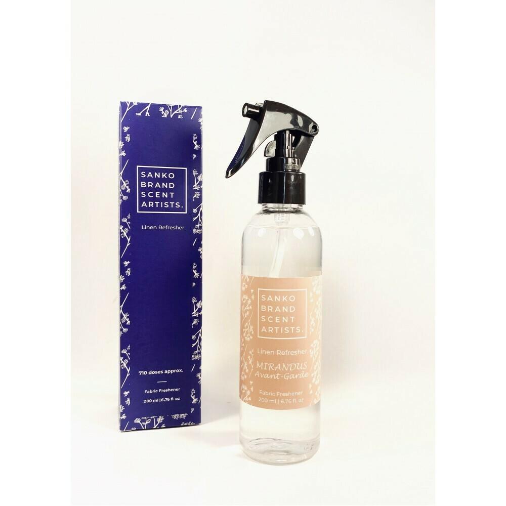Sanko Mirandus Avant-Garde Linen Refresher αρωματικό για το φρεσκάρισμα των υφασμάτων 200 ml