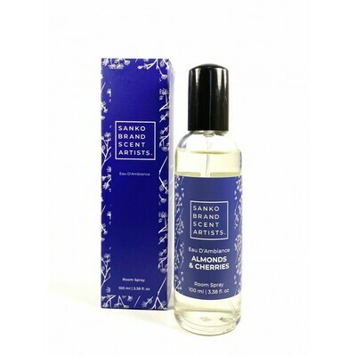 Sanko Almonds & Cherries Eau D'Ambiance αρωματικό χώρου room pump 100 ml