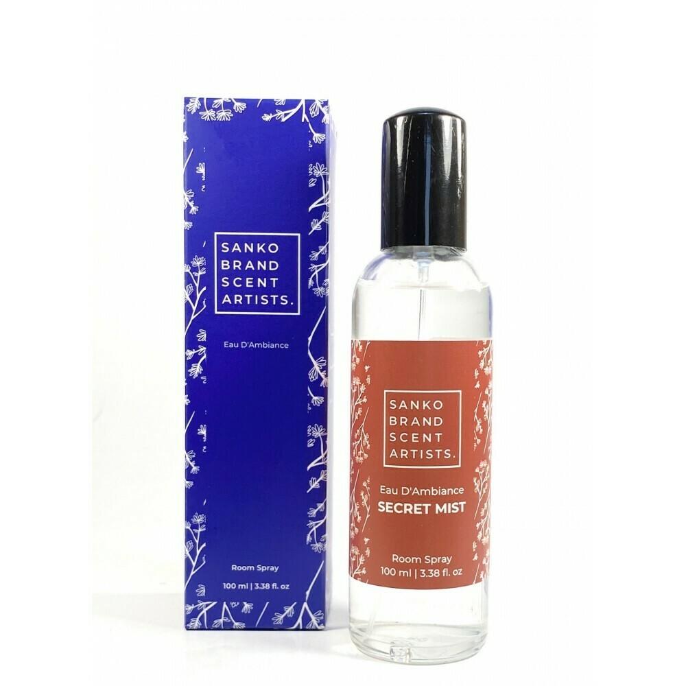 Sanko Secret Mist Eau D'Ambiance αρωματικό χώρου room pump 100 ml