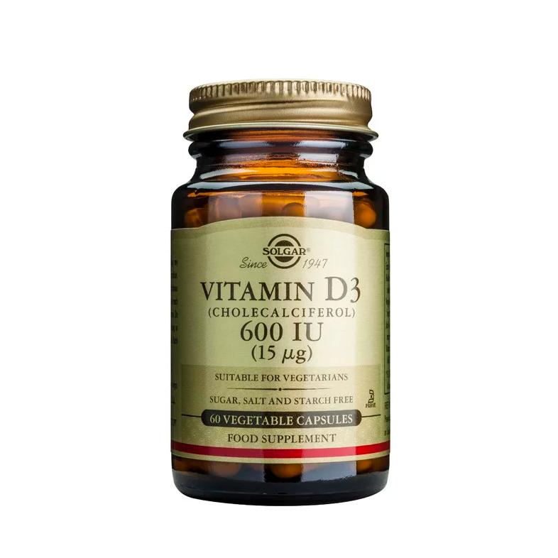 Solgar Vitamin D3 600iu 60caps
