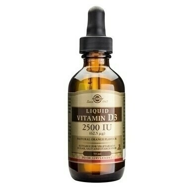 Solgar Vitamin D3 2500iu (62.5μg) Liquid 59ml