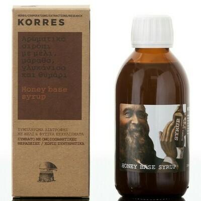 Korres Σιρόπι Για Το Λαιμό Honey Base 200ml
