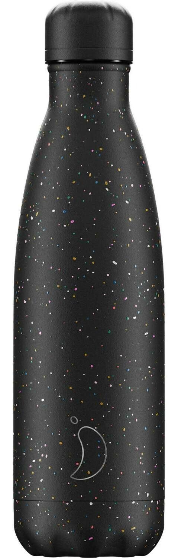 Chilly's Ανοξείδωτος Θερμός  Speckled Black 500ml