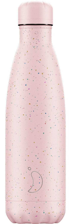 Chilly's Ανοξείδωτος Θερμός Speckled Pink 500ml