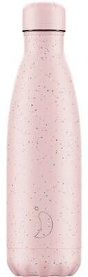 Chilly's Ανοξείδωτος Θερμός Speckled Pink 500ml