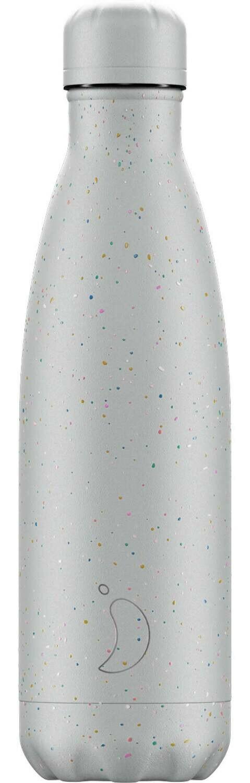Chilly's Ανοξείδωτος Θερμός Speckled Grey 500ml