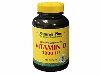 Natures Plus VIT. D3 1000IU softgels 180S