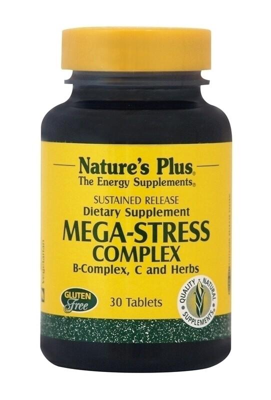 Natures Plus Mega-Stress Complex 30tabs