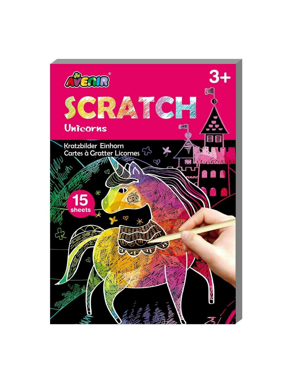 Mini Scratch Book - Unicorns