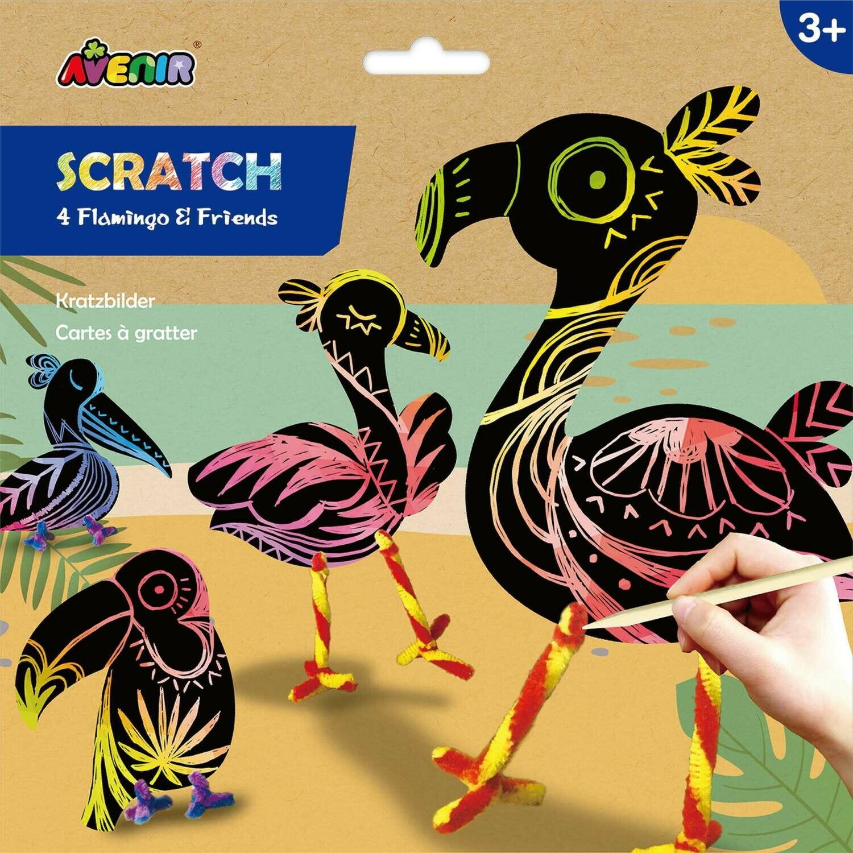 Stratch- 4 Flamingo