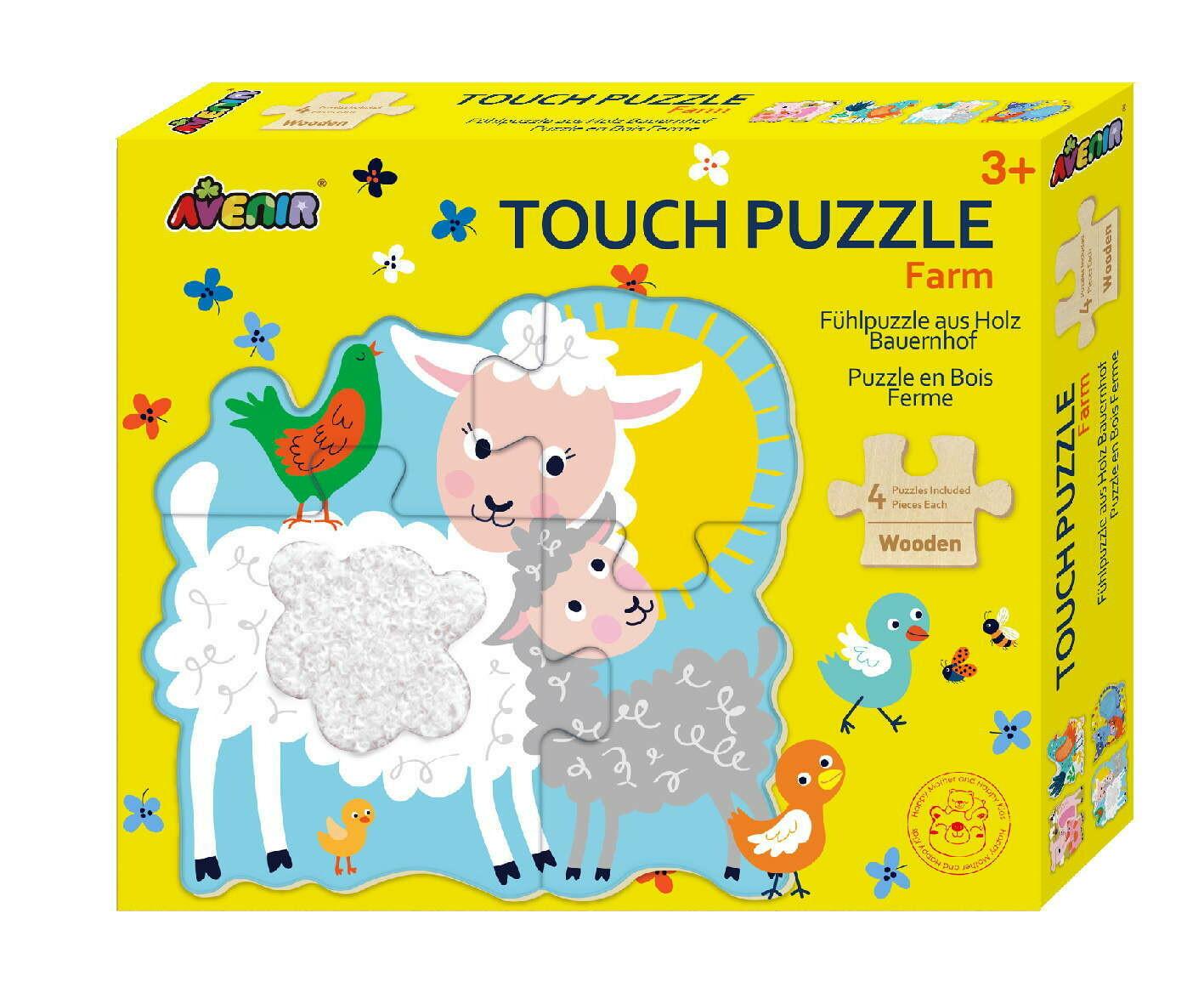 Touch Puzzle - Farm