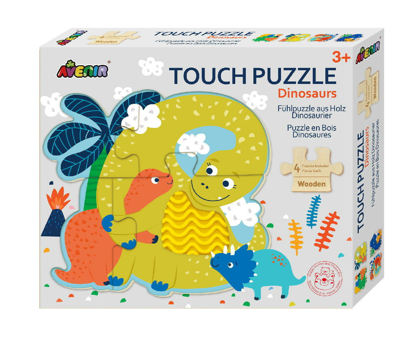 Touch Puzzle- Dinosaur