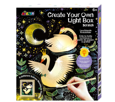 Scratch Create Your Own light Box