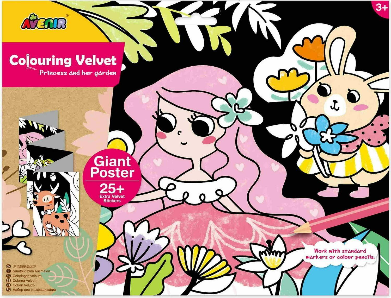Giant Velvet Poster - Princess