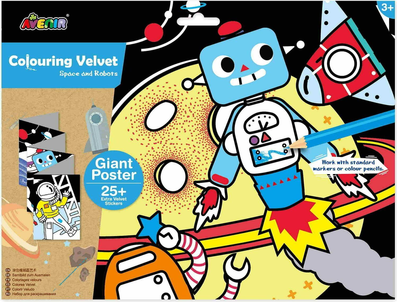 Giant Velvet Poster - Space