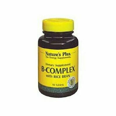 Natures Plus VIT. B COMPLEX-Rice Bran 90tabs