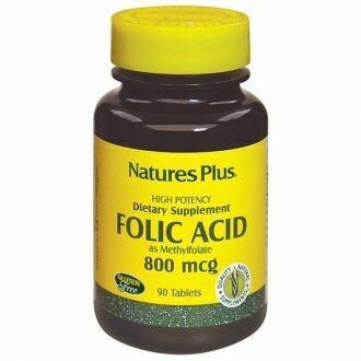 Natures Plus Folic Acid 800mcg 90Tabs