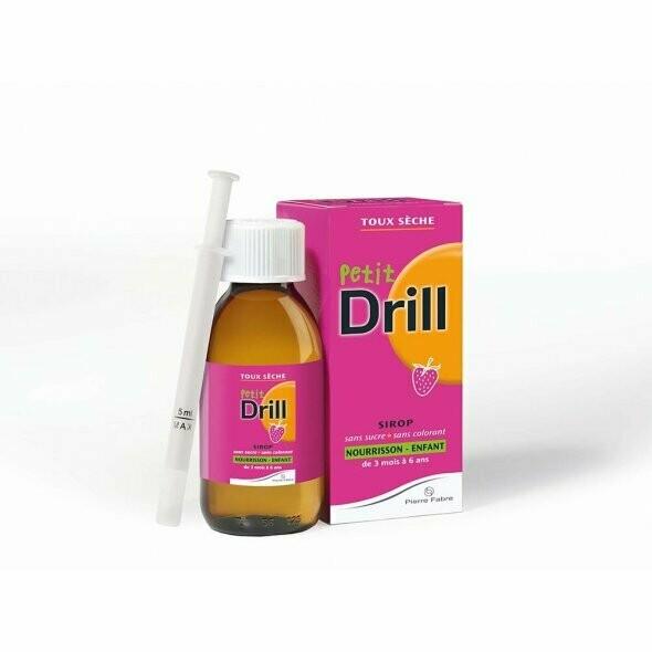Petit Drill Σιρόπι Για Ξηρό Βήχα 125ml